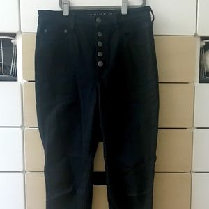 American Eagle Super High Rise Jegging 5Button Fly